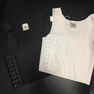 ナベシャツ 二枚セット SS(ブラ)