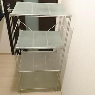 ガラス 浅漬け容器 約幅12.5×奥行10.5×高