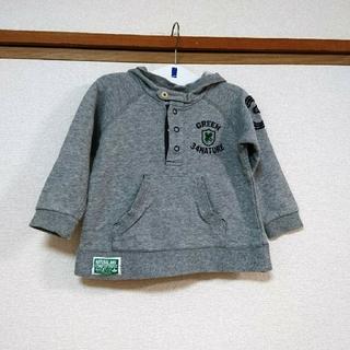 サンカンシオン(3can4on)の3can4on☆フードつきトレーナー90(Tシャツ/カットソー)