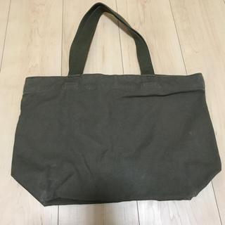 ムジルシリョウヒン(MUJI (無印良品))の無印 トートバッグ カーキ (トートバッグ)