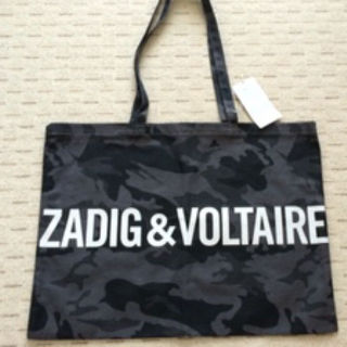 ZADIG & VOLTAIRE カモフラトート 新品タグ付き