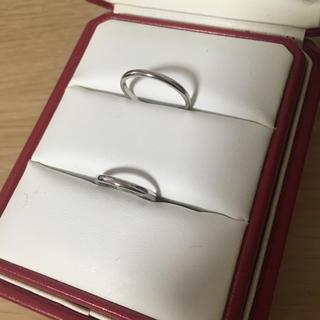 カルティエ(Cartier)の新品仕上げ カルティエ ペアリング 15号 10号(リング(指輪))