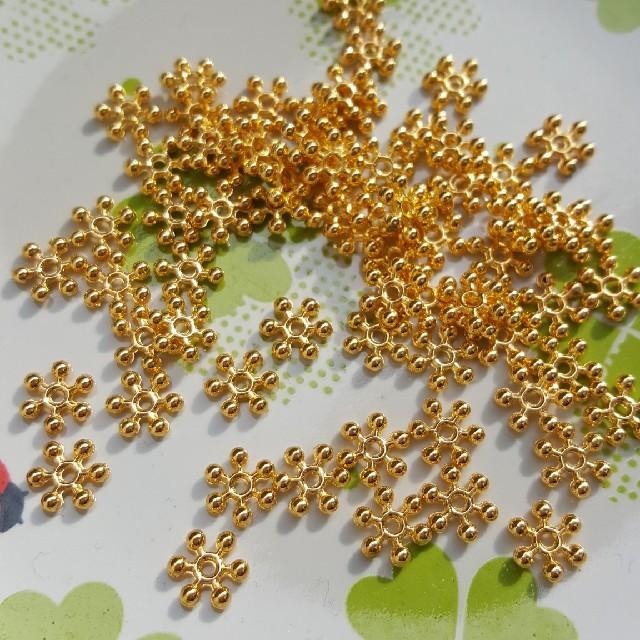 ☆スペーサー☆ゴールド ハンドメイドの素材/材料(各種パーツ)の商品写真