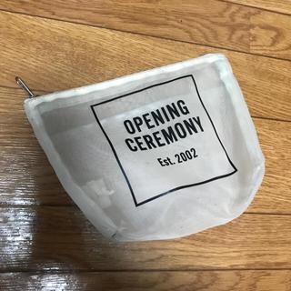 オープニングセレモニー(OPENING CEREMONY)の値下げ!opening ceremony ポーチ(ポーチ)