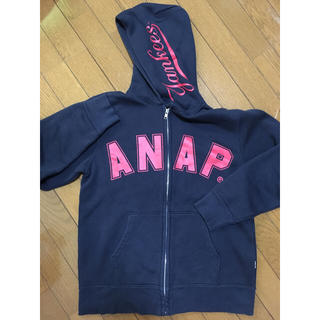 アナップ(ANAP)のMAJESTIC×ANAP ロゴプリント スウェット上下セットアップ(ルームウェア)