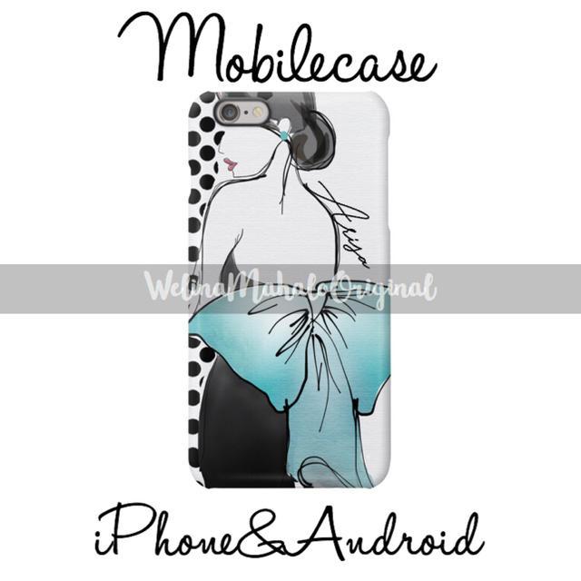 iphone8 お風呂 ケース | 名入り♡ティファニーブルーリボンスマホケース♡iPhone以外も対応機種多数ありの通販 by welina mahalo|ラクマ