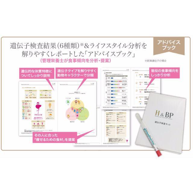 遺伝子検査キット・肥満遺伝子(3種類) コスメ/美容のコスメ/美容 その他(その他)の商品写真