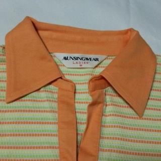 マンシングウェア(Munsingwear)のMUNSINGWEAR マンシングウェア 半袖 ポロシャツ M ゴルフ 日本製(ポロシャツ)