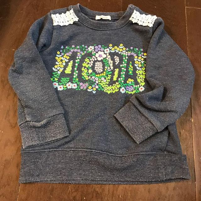 Acoba(アコバ)の最終 ACOBA  95トレーナー キッズ/ベビー/マタニティのベビー服(~85cm)(その他)の商品写真