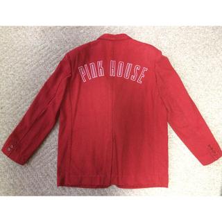 ピンクハウス(PINK HOUSE)のyxx0948様専用  ピンクハウスのテーラード ジャケット(赤)(テーラードジャケット)