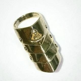 ヴィヴィアンウエストウッド(Vivienne Westwood)のVivienne Westwood/旧型 ゴールドアーマーリング(リング(指輪))