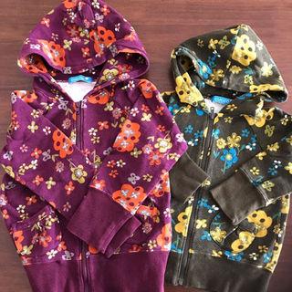 ギャップ(GAP)のcuccoのレトロな花柄パーカー2枚セット(ジャケット/上着)