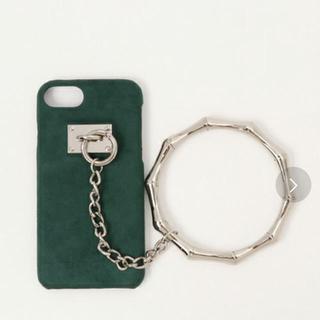 ムルーア(MURUA)のMURUA iPhoneケース GRN(モバイルケース/カバー)