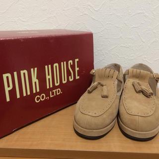 ピンクハウス(PINK HOUSE)のPINK HOUSEのスウェードタッセルシューズ(ローファー/革靴)