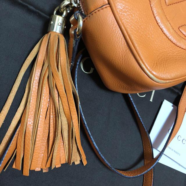 Gucci(グッチ)のGUCCI ショルダーバッグ  オレンジ レディースのバッグ(ショルダーバッグ)の商品写真