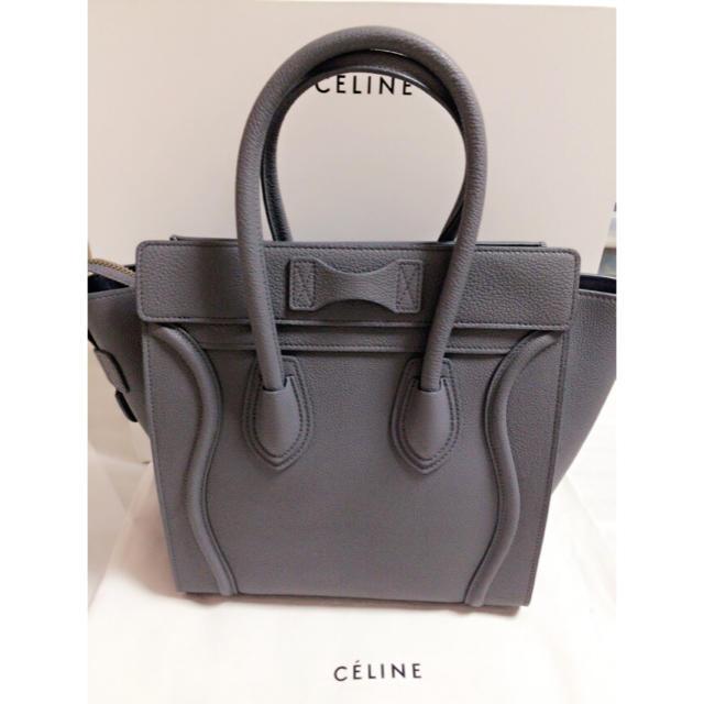 5ca188ee0af3 celine(セリーヌ)のCELINE マイクロラゲージ コール セリーヌ レディースのバッグ(トートバッグ