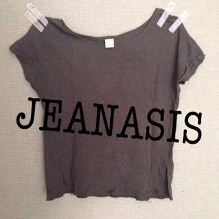 ジーナシス(JEANASIS)の*JEANASIS 半袖Tシャツ♡(Tシャツ(半袖/袖なし))