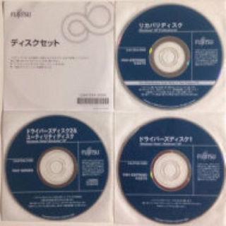 フジツウ(富士通)の富士通 FMV-ESPRIMO K5270 リカバリディスク 3枚セット(PC周辺機器)