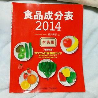 食品成分表2014 本表編(その他)