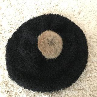 アースミュージックアンドエコロジー(earth music & ecology)の【美品】アース ミュージック&エコロジー ベレー帽(ハンチング/ベレー帽)