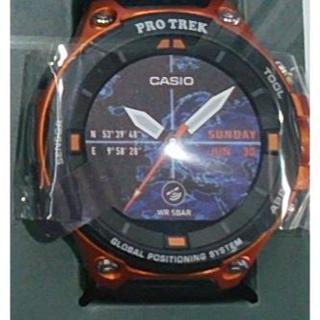カシオ(CASIO)のカシオ プロトレック WSD-F20-RG PROTREK Smart オレンジ(腕時計(デジタル))