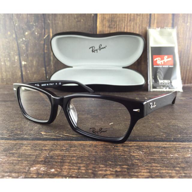 Ray-Ban(レイバン)のレイバン RayBan RB5130 2000〈ブラックフレーム×伊達メガネ〉  メンズのファッション小物(サングラス/メガネ)の商品写真