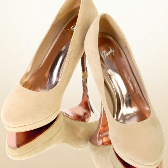 Rady(レディー)のRady ベーシックスエードパンプス レディースの靴/シューズ(ハイヒール/パンプス)の商品写真