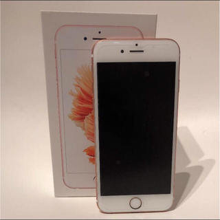 アップル(Apple)の【状態良】iPhone6s 128G simフリー 本体(スマートフォン本体)