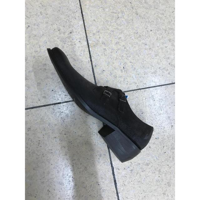 madras(マドラス)のマドラスブランドブラックリスト本革スエードビジネスホスト メンズの靴/シューズ(ドレス/ビジネス)の商品写真