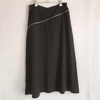 トランク(TRUNK)のAライン ロングスカート 巻きスカート風 ヴィジュアル系(ロングスカート)