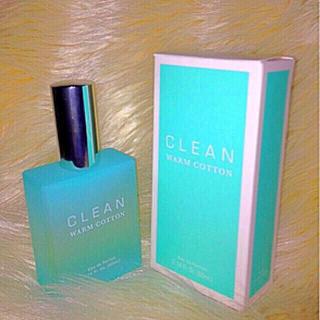 クリーン(CLEAN)の【 新品 CLEAN WARM COTTON / PARFUM 】(ユニセックス)