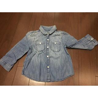 ベビーギャップ(babyGAP)のzhihua5555さま専用  babyGap 長袖シャツ  90センチ(Tシャツ/カットソー)