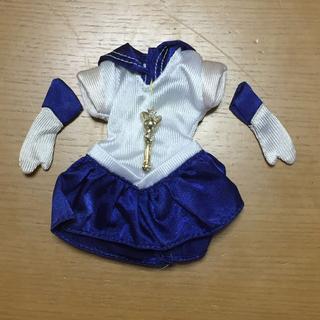 セーラームーン(セーラームーン)のセーラームーン セーラーマーキュリー洋服、手袋 、変身スティック 当時物(アニメ/ゲーム)
