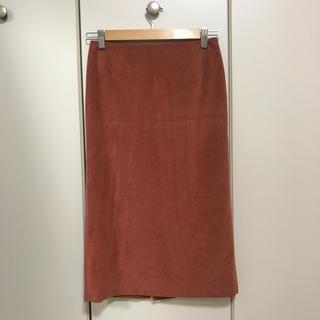 デミルクスビームス(Demi-Luxe BEAMS)の新品 Demi-Luxe Beams  36 タイトスカート テコラッタ ピンク(ひざ丈スカート)
