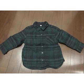 ムジルシリョウヒン(MUJI (無印良品))の無印良品  長袖シャツ  90 お値下げ♡(Tシャツ/カットソー)