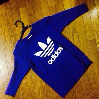 アディダス(adidas)のadidasてぃーしゃつ♡(Tシャツ(長袖/七分))