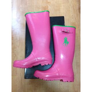 ラルフローレン(Ralph Lauren)のポロラルフローレン レインブーツ 24㎝(レインブーツ/長靴)