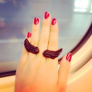 クレアーズ(claire's)の羽 指輪(リング(指輪))