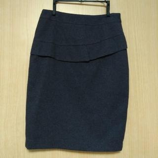 ノーブル(Noble)のY NON様専用 お値下げ冬物 暖かいタイトスカート M(ひざ丈スカート)