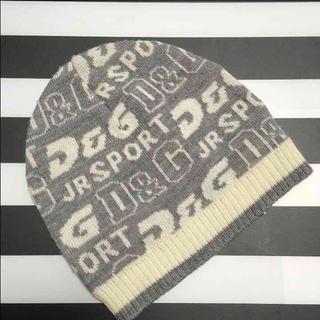 ドルチェアンドガッバーナ(DOLCE&GABBANA)の【美品】ドルガバジュニア 18ヶ月 帽子 ニット帽 乳幼児 90㎝(帽子)