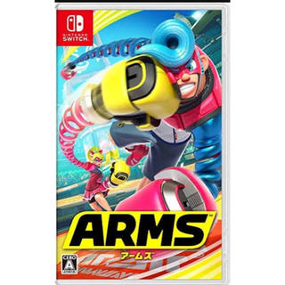 ニンテンドースイッチ(Nintendo Switch)の任天堂SWITCHスウィッチ ARMS(家庭用ゲームソフト)