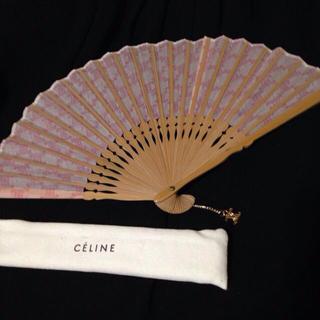 セリーヌ(celine)のセリーヌ🌸ピンク扇子(和装小物)