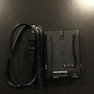 オリンパス(OLYMPUS)のOLYMPUS オリンパス 充電器 BCM-2 美品(バッテリー/充電器)