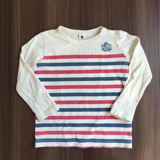 ジーンズベー(jeans-b)の95サイズ JEANS-B 長袖ボーダーT(Tシャツ/カットソー)