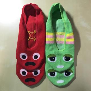 ガチャピン靴下(その他)