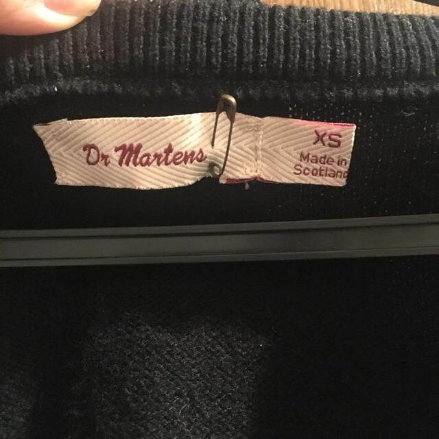 Dr.Martens(ドクターマーチン)のDr.マーチンの黒 ニット 新品未使用 レディースのトップス(ニット/セーター)の商品写真