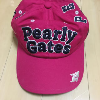 パーリーゲイツ(PEARLY GATES)のPEARLY GATES パーリーゲイツ キャップ 新品 (キャップ)