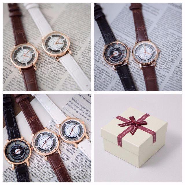 デザインウォッチ◆ブラウン メンズの時計(腕時計(アナログ))の商品写真