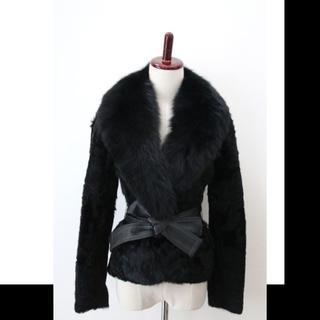 アドーア(ADORE)の新品タグ付●ボディドレッシングデラックス●FOX&ラムファージャケットコート(毛皮/ファーコート)