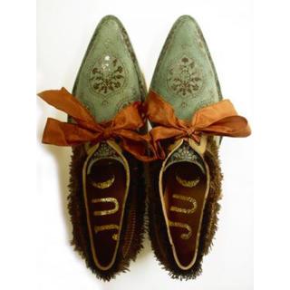 ジュコ(JUCO.)の朽ちたトルコの花壁シューズ(ローファー/革靴)